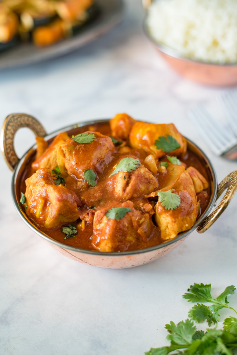 Quick and Easy Chicken Madras Indian Recipe - indian curry recipes chicken