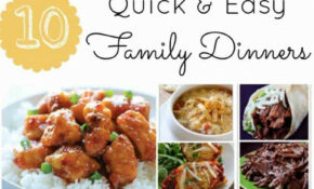 Quick And Easy Dinner Recipes – Page 2 Of 2 – Princess ..