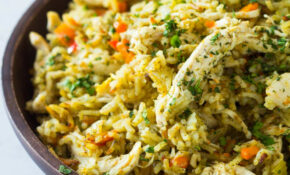 Quick And Easy Instant Pot Chicken And Rice – Green ..