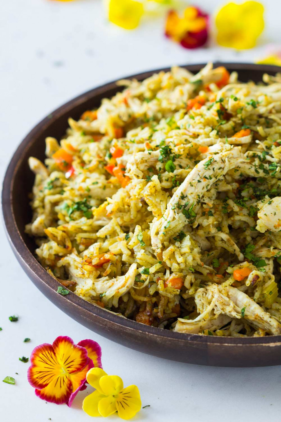 Quick and Easy Instant Pot Chicken and Rice - Green ..