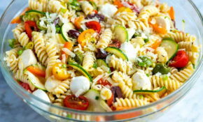 Quick And Easy Pasta Salad Recipe – Pasta Salad Recipes Vegetarian