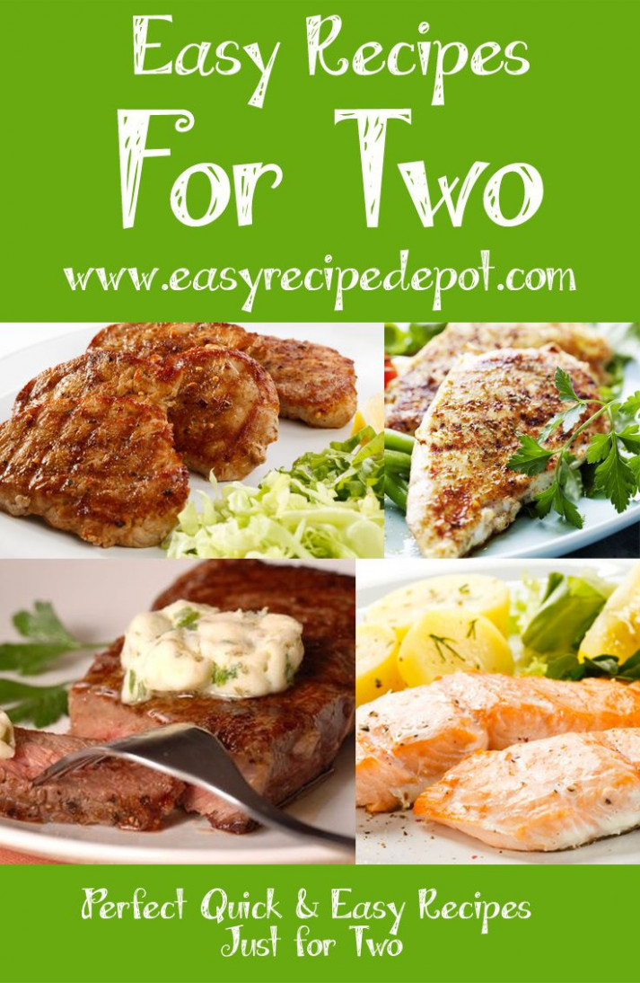 Quick And Easy Recipes For Two. | Meals For 2 In 2019 ..