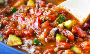 Quick And Easy Vegetable Lasagna – The Seasoned Mom – Recipes Ideas For Vegetarian