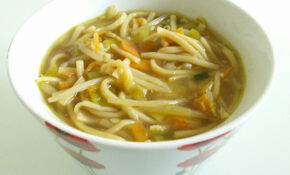 Quick and easy vegetable noodle soup recipe - All recipes UK