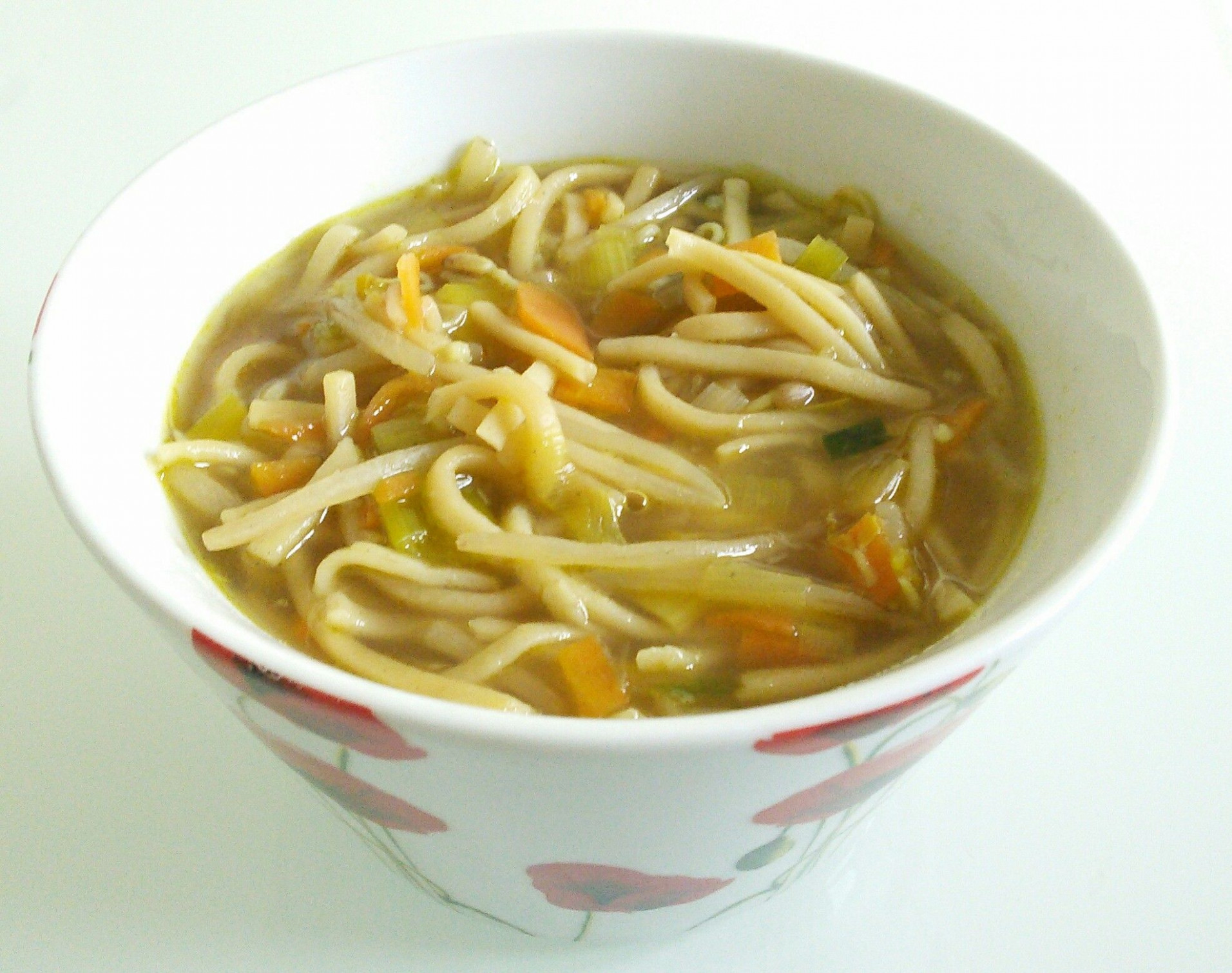 Quick And Easy Vegetable Noodle Soup Recipe - All Recipes UK - Recipe Vegetarian Noodle Soup