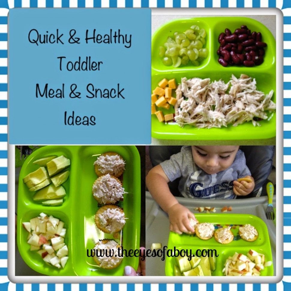 Quick and Healthy Baby Food Ideas - Wildly Charmed - toddler food recipes for 2 year old
