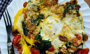 Quick And Healthy Egg And Veggie Skillet Breakfast – Recipes Breakfast Vegetarian Indian