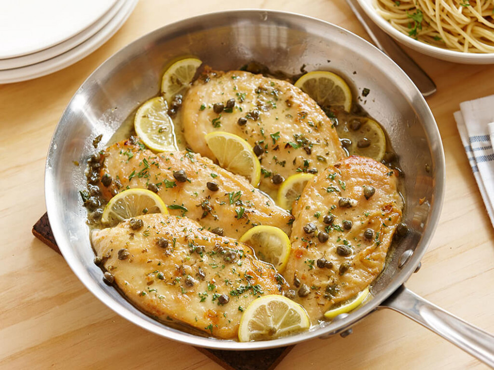 Quick and Simple Chicken Piccata - chicken recipes quick easy