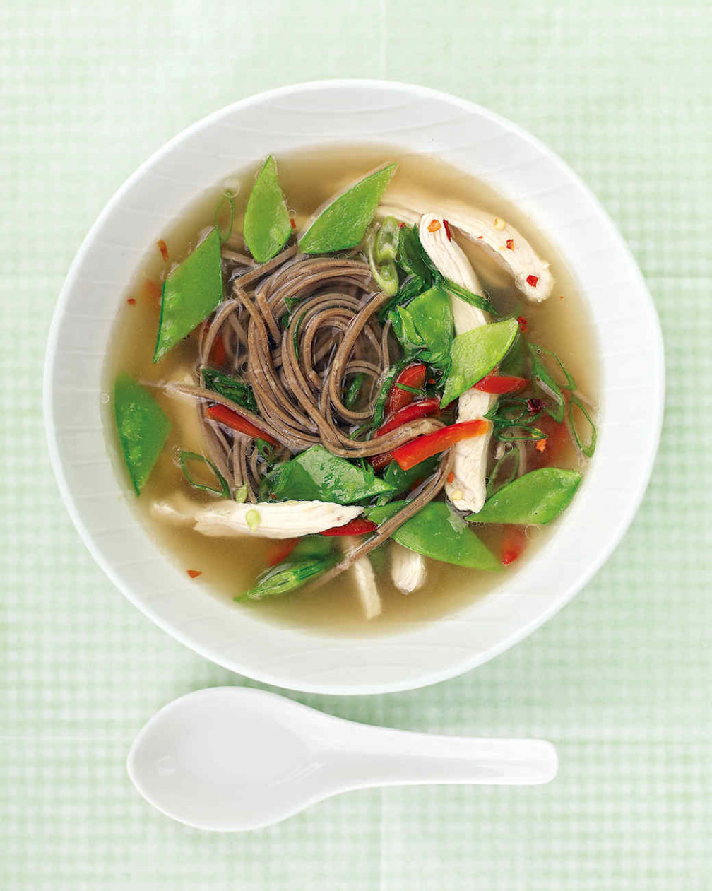 Quick Asian Chicken Soup Recipe | Martha Stewart - recipes everyday food