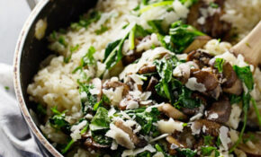 Quick Chicken And Spinach Risotto – Chicken Recipes With Spinach