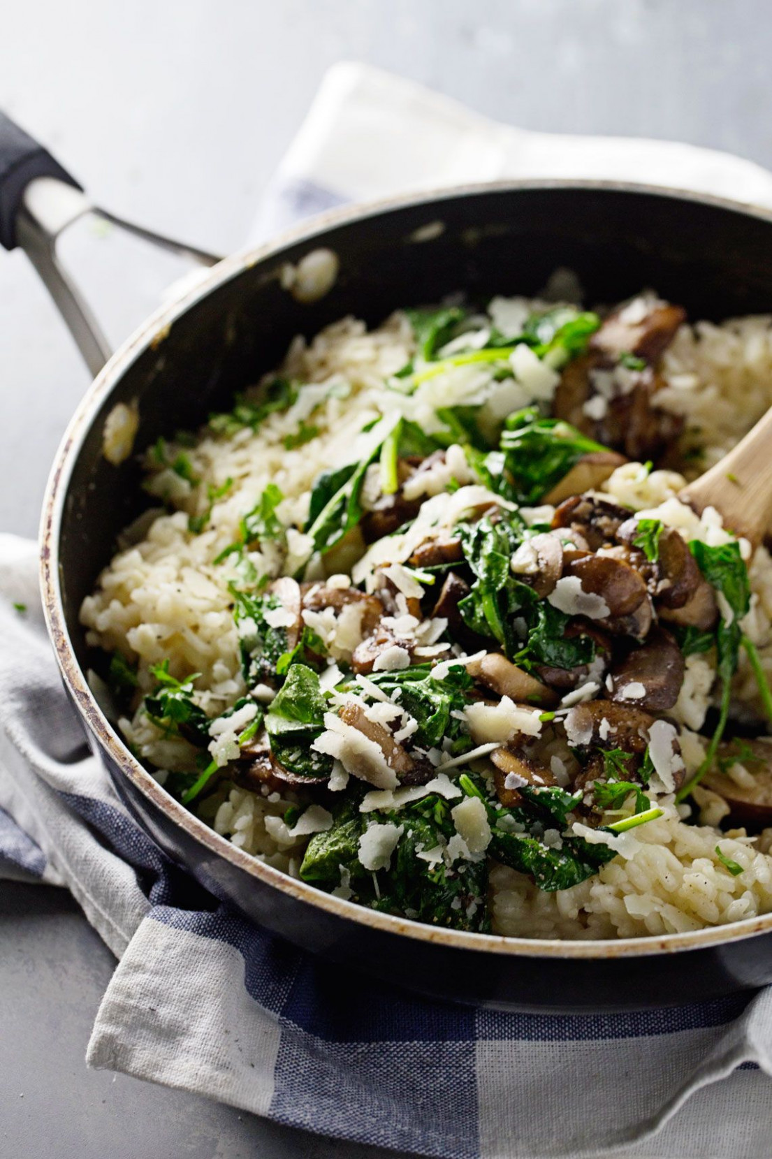 quick chicken and spinach risotto - chicken recipes with spinach