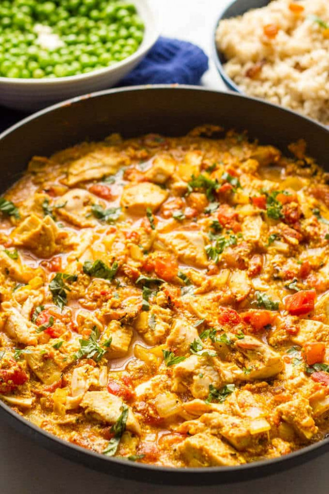 Quick chicken curry 15 minutes (+ video) - Family Food ..