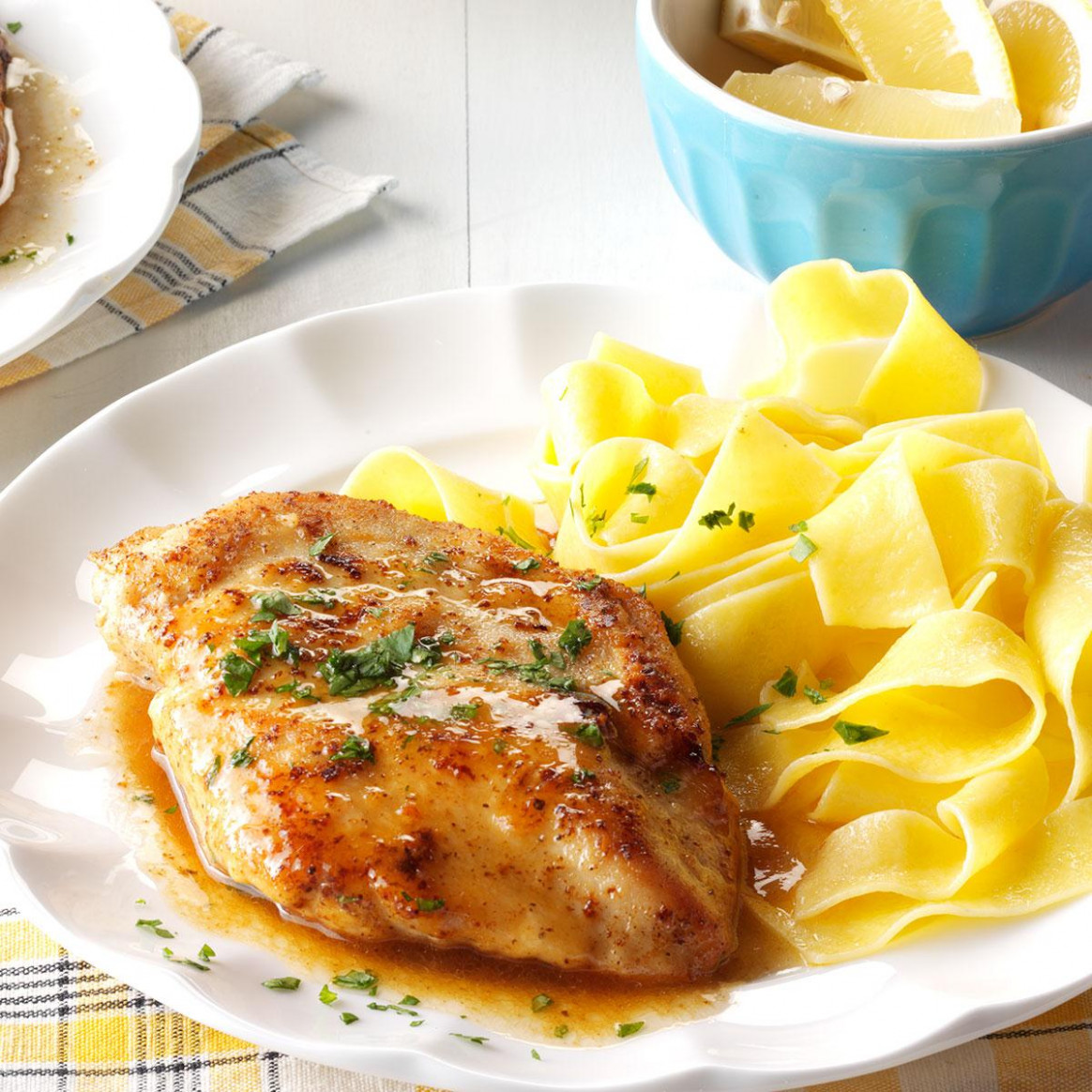 Quick Chicken Piccata Recipe | Taste of Home - chicken recipes quick and easy for dinner