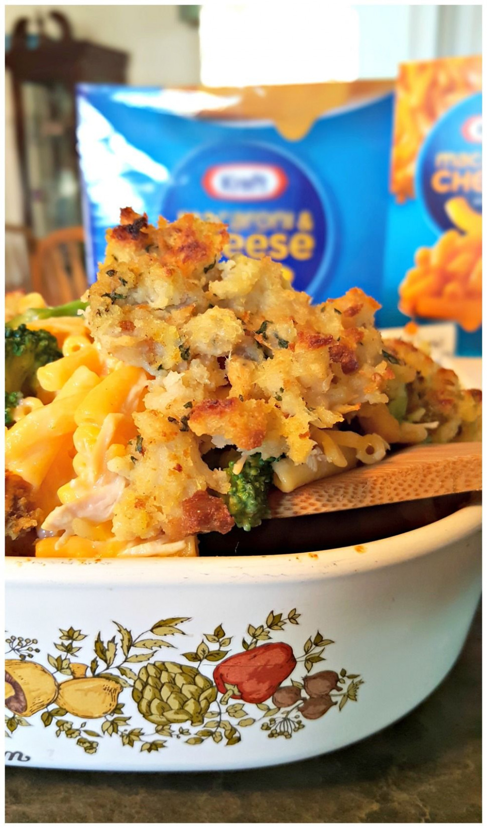 Quick Dinner Casserole with KRAFT Mac & Cheese | If it looks ..