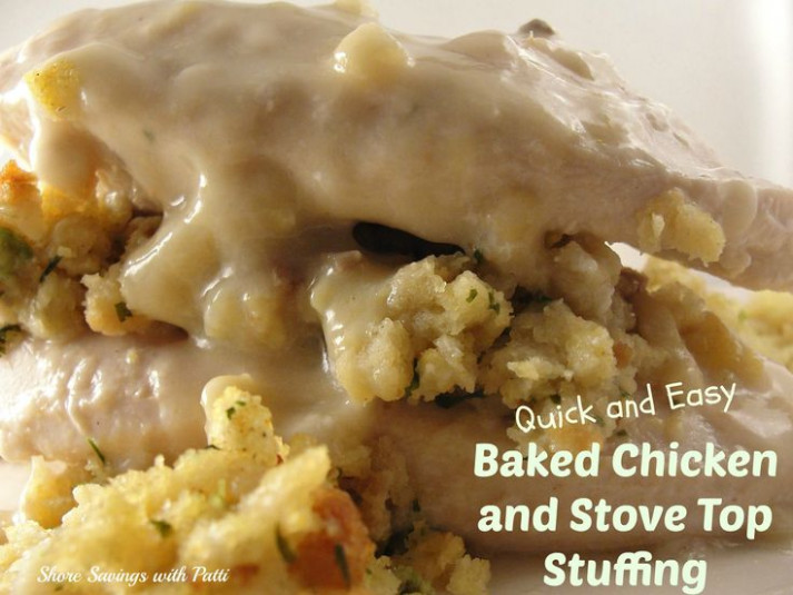 Quick & Easy Baked Chicken and Stove Top Stuffing | Recipe ..