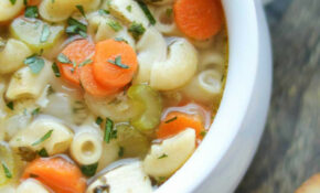 Quick & Easy Chicken Noodle Soup With Rotisserie Chicken ..