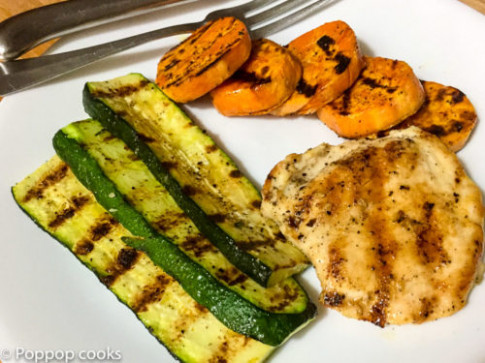 Quick Easy Grilled Chicken Dinner - One Pan - Easy Cleanup ..