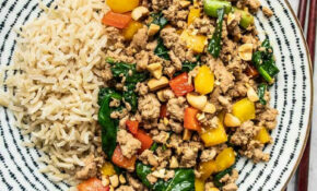 Quick & Easy Ground Turkey Stir Fry – Budget Bytes – Healthy Recipes Ground Chicken