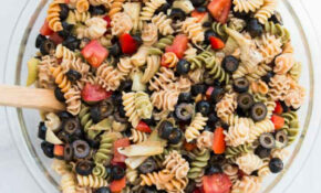 Quick & Easy Italian Pasta Salad Recipe (Vegan ...