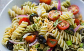 Quick & Easy Pasta Salad | Food With Feeling – Salad Recipes Vegetarian Healthy