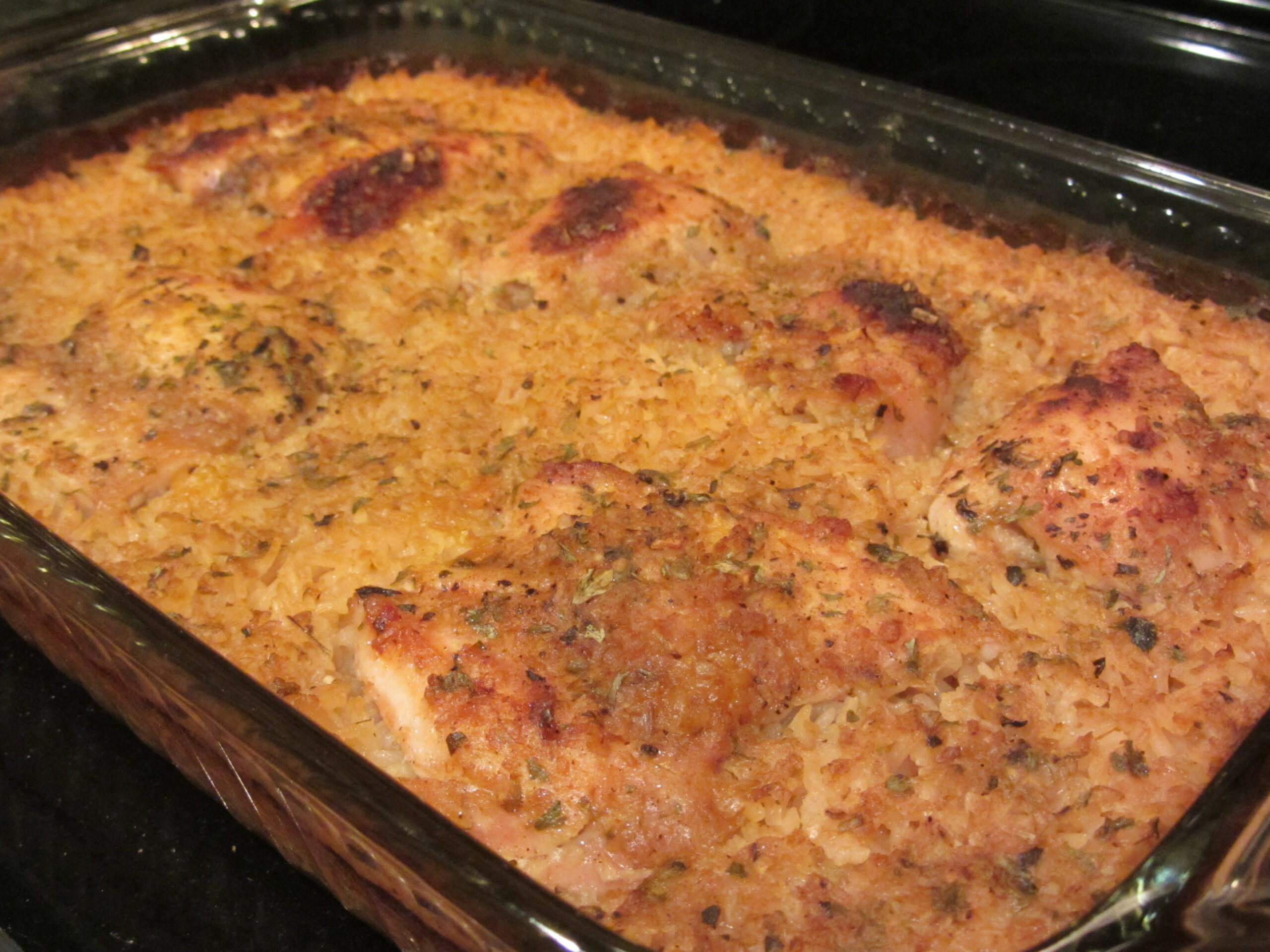 Quick & Easy Recipe: Chicken and Rice Bake without Canned ..