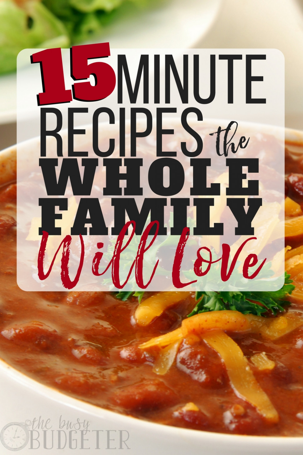 Quick Family Dinner Recipes: 12-Minute Meals Everyone Will ..