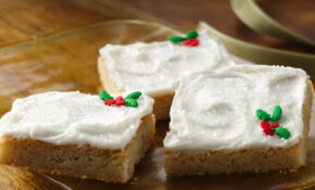 Quick Holiday Cookie Bars Recipe – Quick Finger Food Recipes