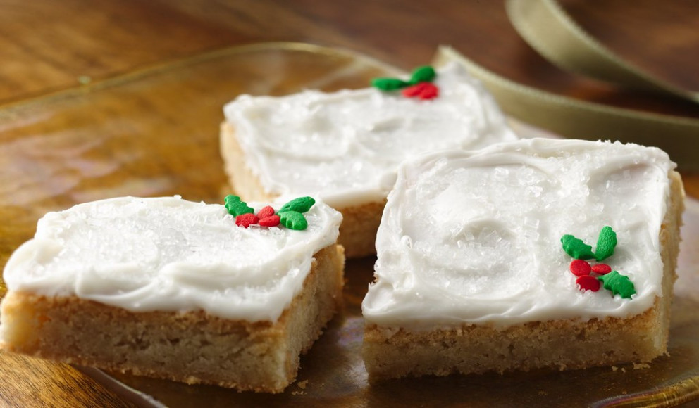 Quick Holiday Cookie Bars Recipe - Quick Finger Food Recipes