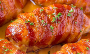 Quiet Corner:Keto Bacon Wrapped Chicken Thighs – Quiet Corner – Keto Recipes Chicken Thighs