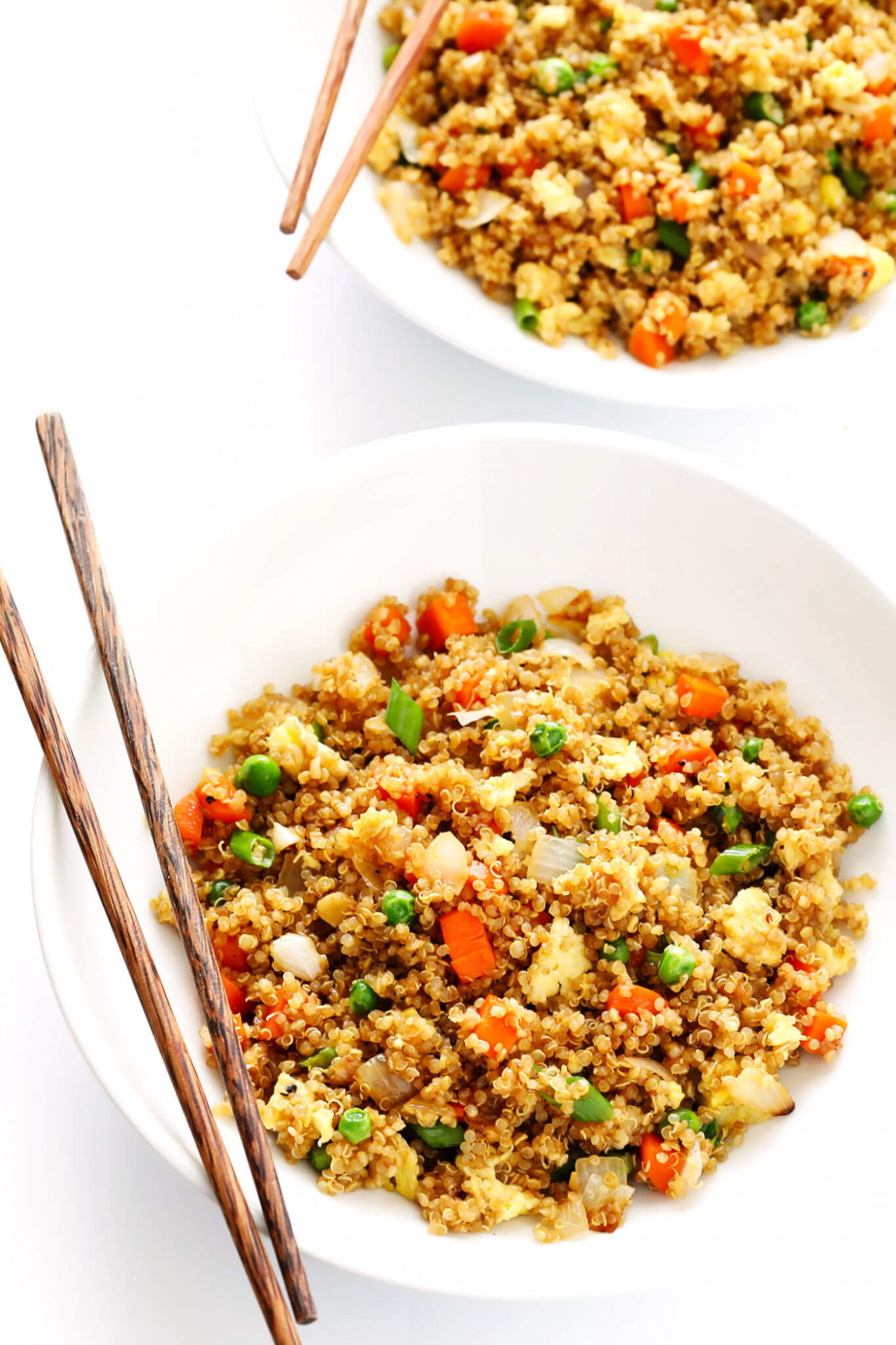 "Quinoa Fried ""Rice"" 