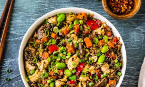 """Quinoa Fried """"Rice"""" With Chicken And Vegetables – Healthy Recipes Kerala"""