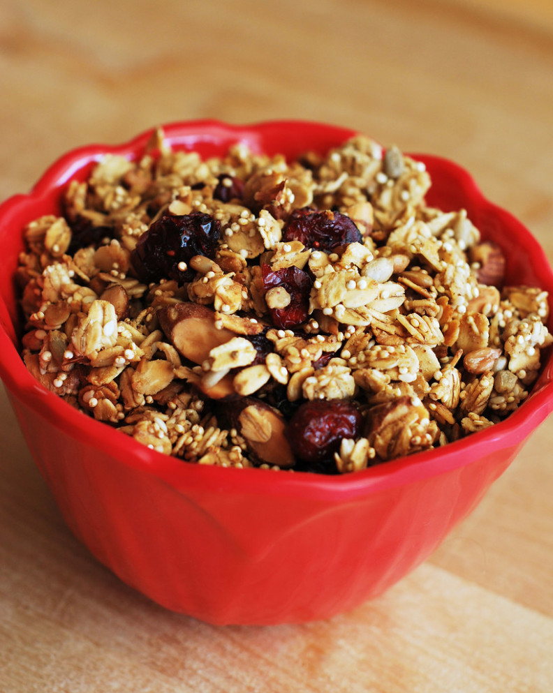 Quinoa Granola - food recipes quinoa