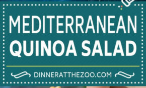 Quinoa Salad With Veggies – Dinner At The Zoo – Quinoa Recipes Dinner