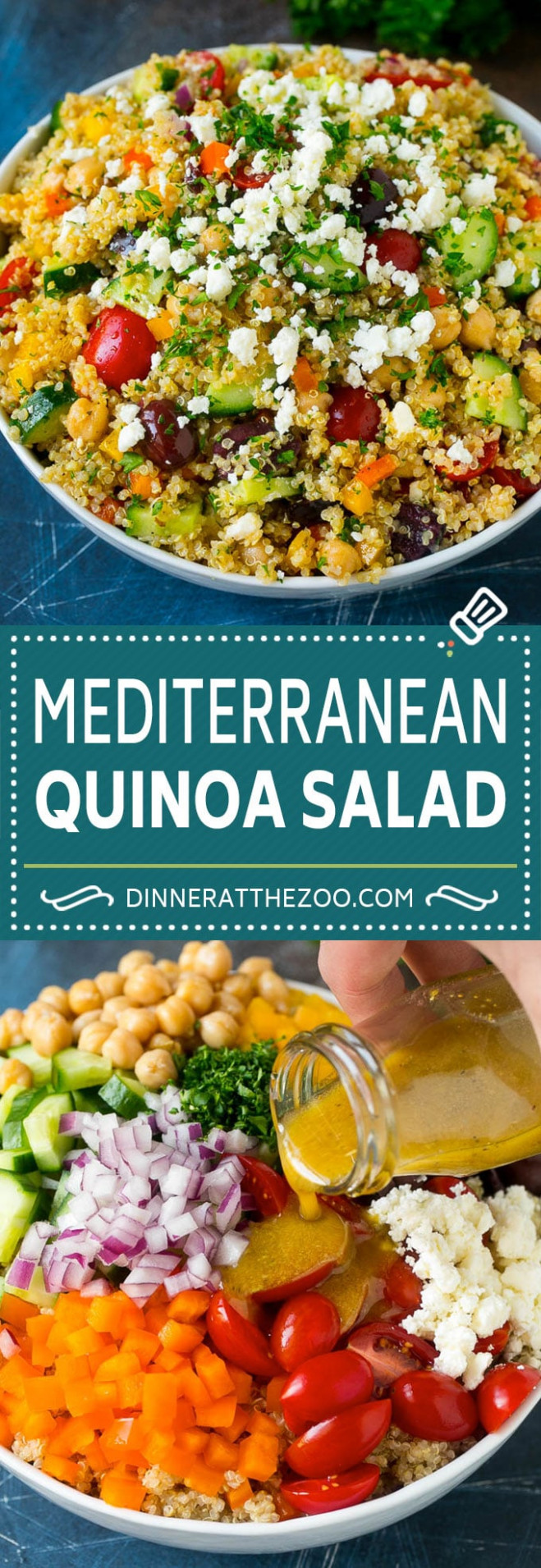 Quinoa Salad with Veggies - Dinner at the Zoo - quinoa recipes dinner