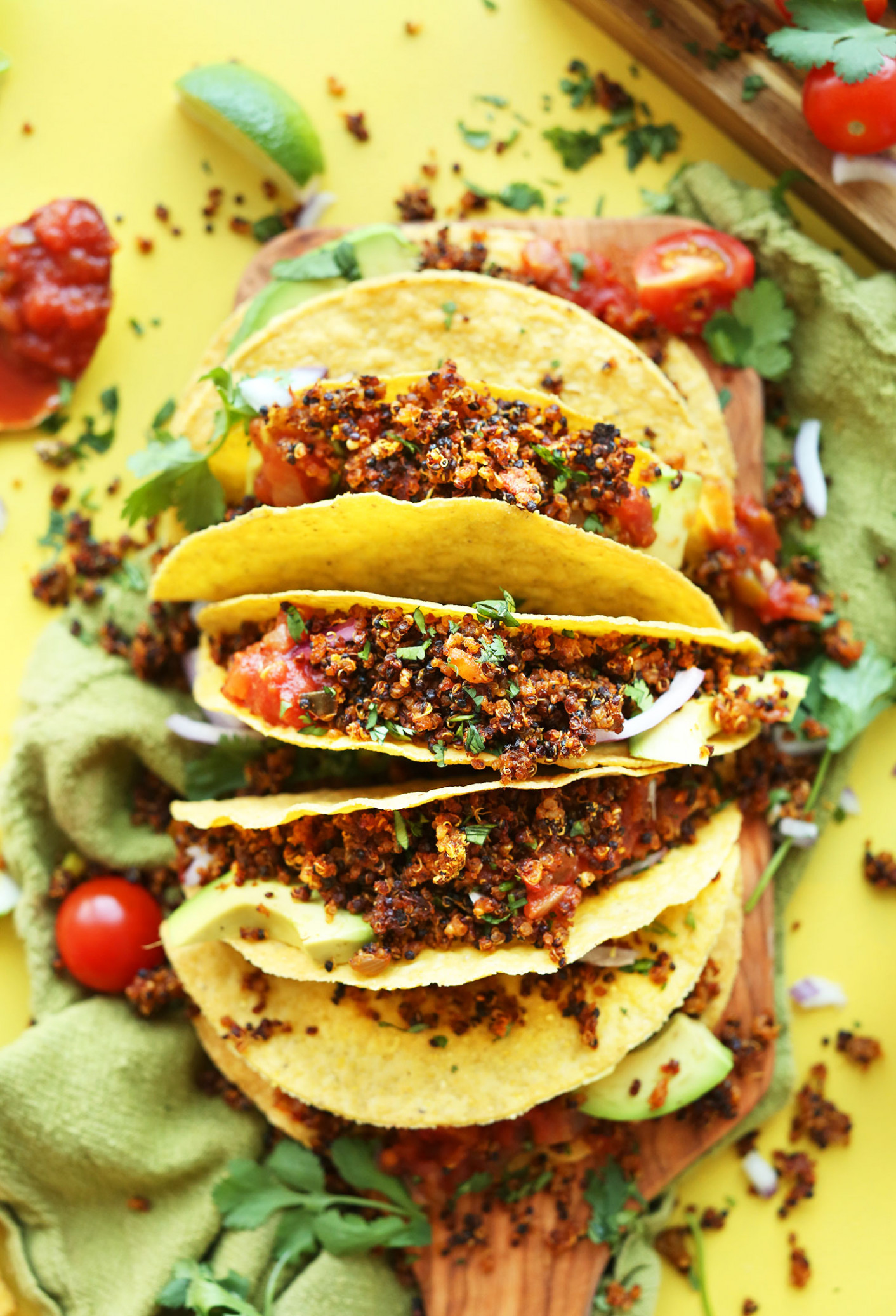 Quinoa Taco Meat - recipes using vegetarian mince