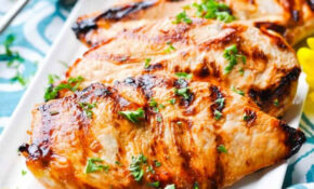 """""""No Work"""" Marinated Chicken – The Seasoned Mom – Recipes For Healthy Chicken"""