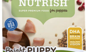 Rachael Ray Nutrish Bright Puppy Natural Real Chicken & Brown Rice Recipe  Dry Dog Food, 14 Lb Bag – Puppy Food Recipes