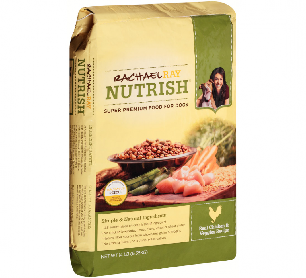 Rachael Ray Nutrish Real Chicken & Veggies Recipe Dog Food - rachael ray recipes chicken