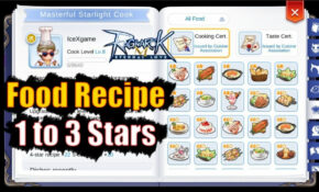 Ragnarok M: Eternal Love Food Recipe 15 To 15 Stars – Food Recipes Ragnarok