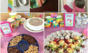 Rainbow and Unicorn Birthday Party Decor and Party Favors