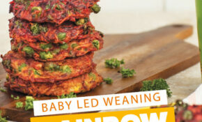 Rainbow Fritters Baby Led Weaning Recipe – Recipes Baby Food