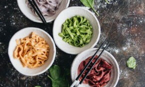 Rainbow Longevity Noodles For Chinese New Year (彩虹长寿面 ..