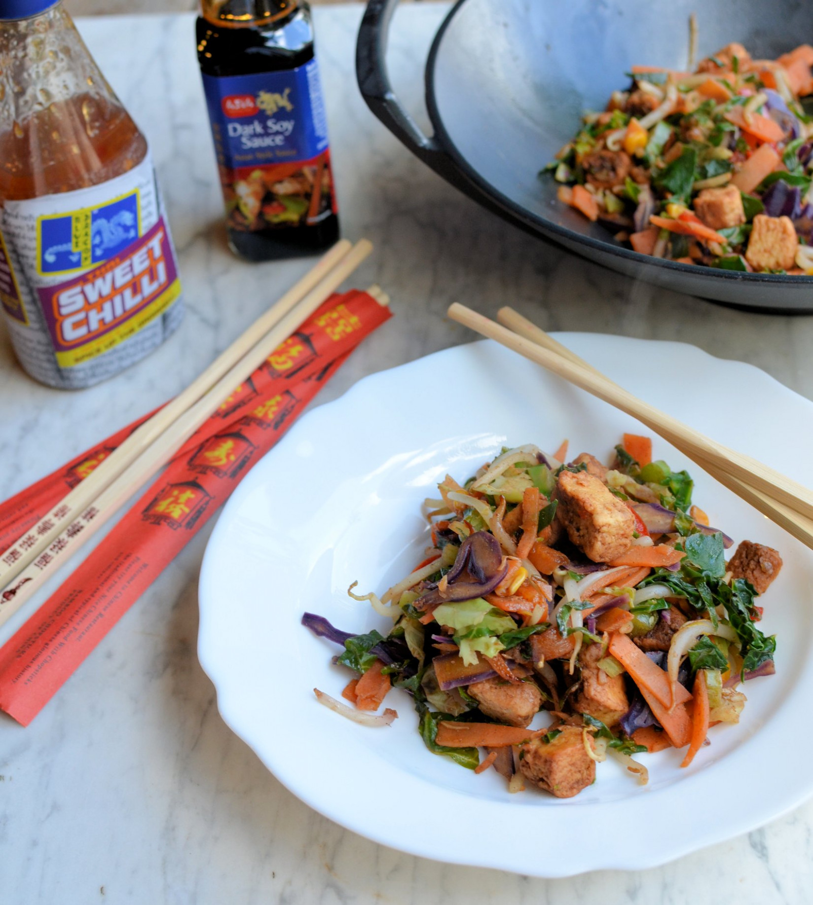 Rainbow Stir-Fry with Quorn - quorn recipes chicken