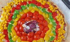 Rainbow Veggie Pizza For Kids – My Fussy Eater | Healthy ..