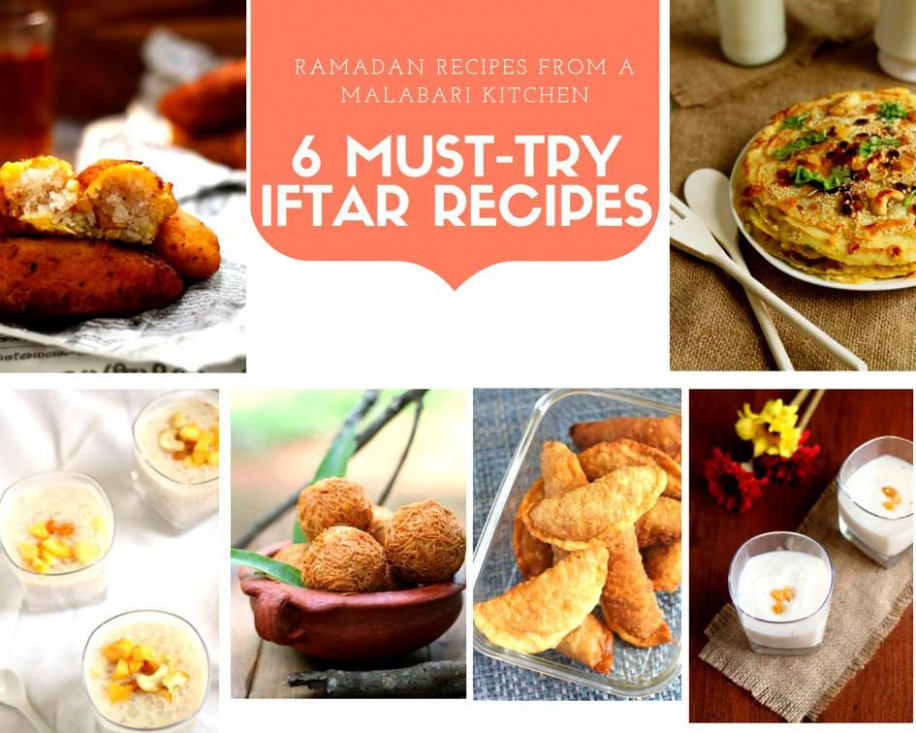 Ramadan Recipes From A Malabari Kitchen: 6 Must-Try Iftar ..