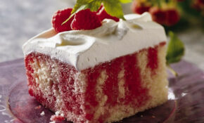Raspberry-Lemonade Cake