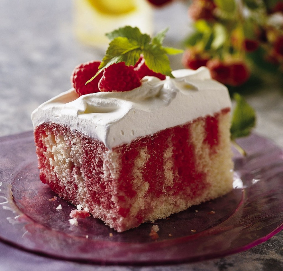 Raspberry-Lemonade Cake - recipes using frozen food