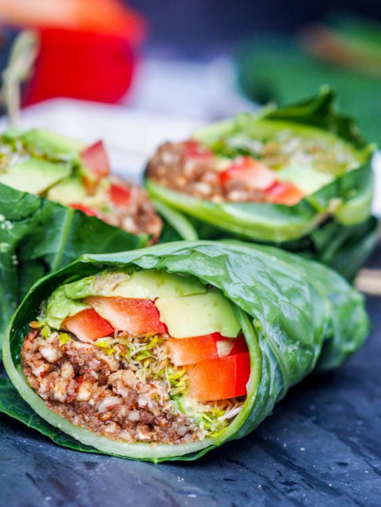 Raw Vegan Dinner Recipes - A Collection of Our Favorites - raw food recipes dinner