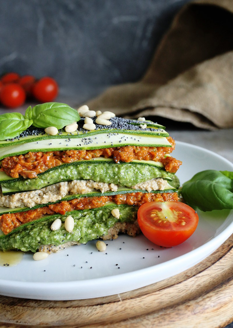 Raw Vegan Lasagne - recipes raw food beginners