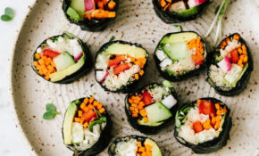 RAW VEGAN SUSHI ROLLS – Recipes Raw Food Beginners